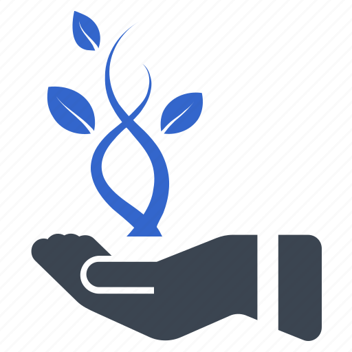 hand, investment, launch, leaf, startup icon