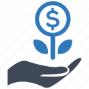 business, growth, investment, startup icon