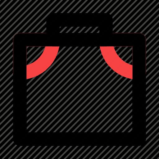 bag, business, management, suitcase icon