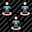 company, corporation, design, job, work icon