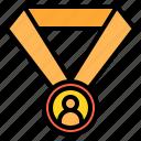 award, business, finance, management, marketing icon