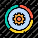 business, data, finance, management, marketing icon