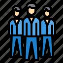 business, finance, leader, management, marketing icon