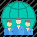 business, finance, management, marketing, team icon