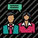chat, communication, conversation, dialogue, interaction, message, network