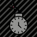 bomb, clock, deadline, stopwatch, time, timer, watch