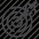 target, arrows, goal, aim