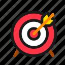 goal, target, mission, arrow, archery, business, objective