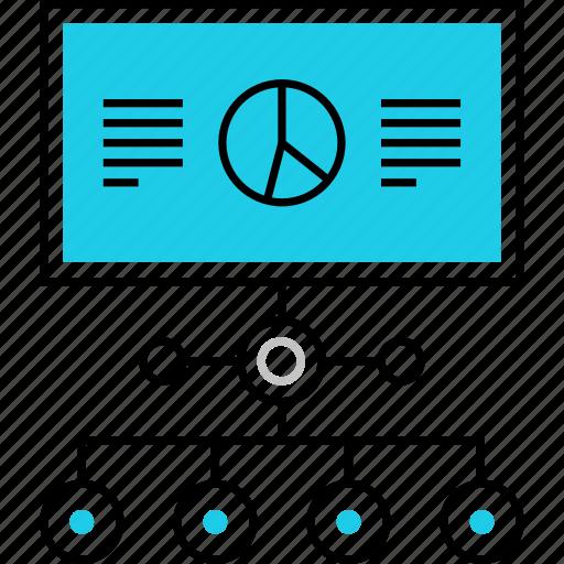 chart, data, flowchart, infographics, scheme, statistics, structure icon