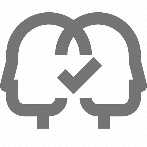 business, compatibility, cooperation, material, people, team work icon