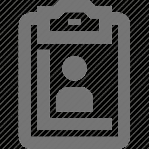 checklist, control, cv, material, people, procedure, test icon