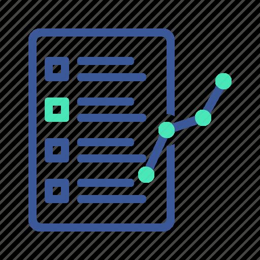 business, corporate, report icon