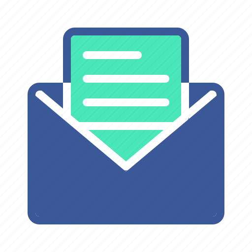 business, corporate, email icon
