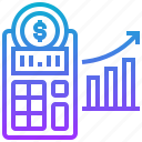 accounting, business, chart, company, finance icon