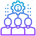 brainstorming, business, company, corporate, team icon