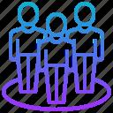 company, corporate, culture, organisation, team icon