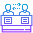 argument, consulting, deliberation, discussion icon