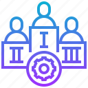 ceo, company, leadership, staff, team icon