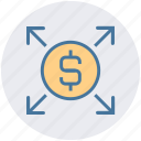 affiliate, arrows, banking, business growth, dollar, financial