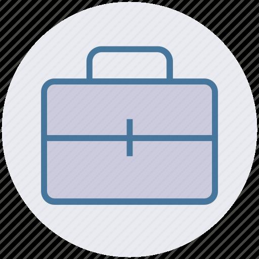 bag, briefcase, business, finance, portfolio, suitcase icon