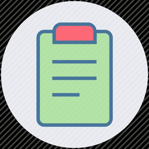 assessment, checkmark, clipboard, list, report, tasks icon