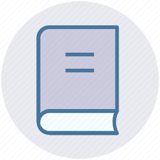 author, book, business, library, notebook, read icon