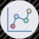 arrow, bars, chart, diagram, growth, report, sales