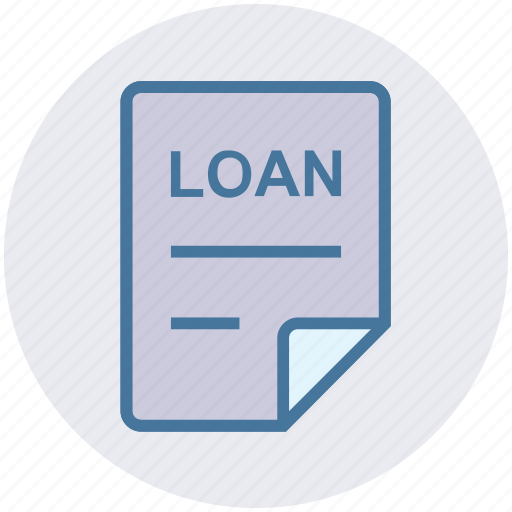 document, file, loan, office, page, paper, sheet icon