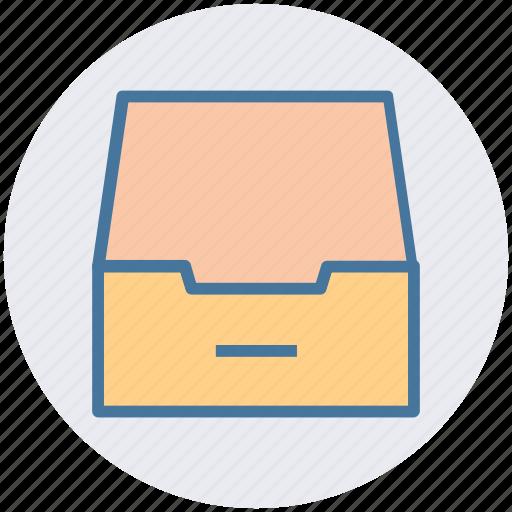 achieve, document, draw, folder, mailbox icon