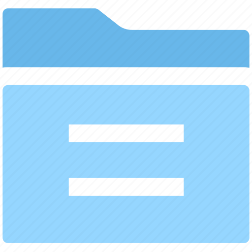 Archive, directory, document, file, folder, paper, storage icon - Download on Iconfinder
