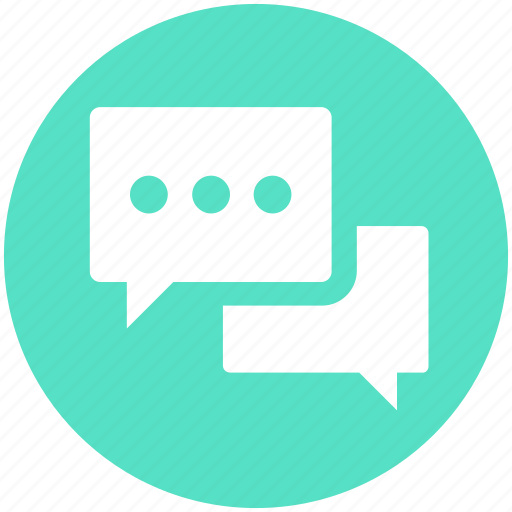 Chat, chatting, comment, conversation, discussion, message, talk icon - Download on Iconfinder