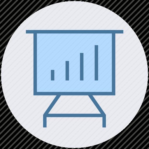 board, business, chart, diagram, graph, statistics icon