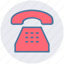 call, handset, landline, old, phone, telephone icon