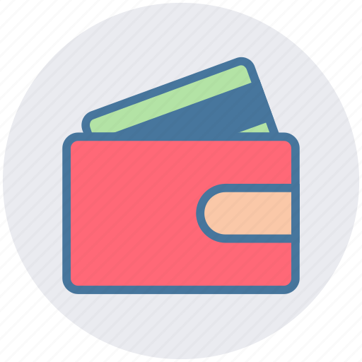 business, card, card in wallet, credit, money, wallet icon