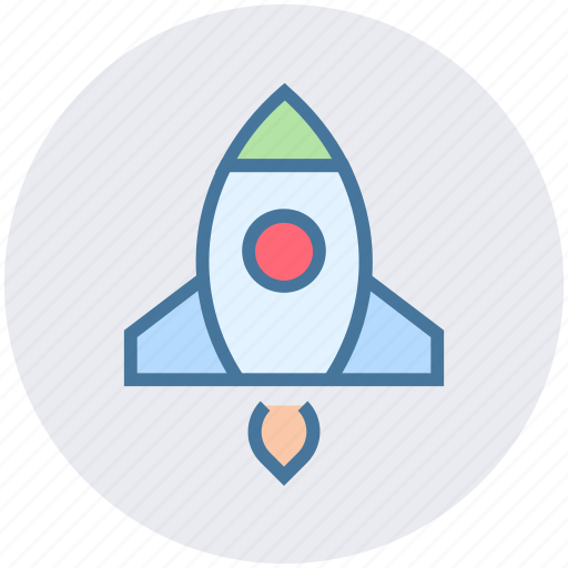 fly, launch, rocket, space, spaceship, startup icon