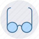 fashion, find, glasses, hipster, ray ban, view icon