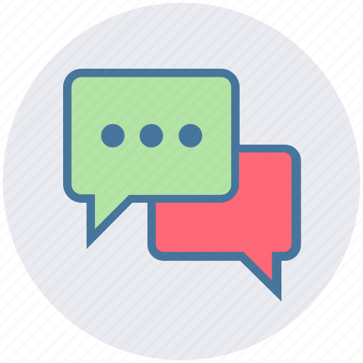 chat, chatting, comment, conversation, discussion, message, talk icon
