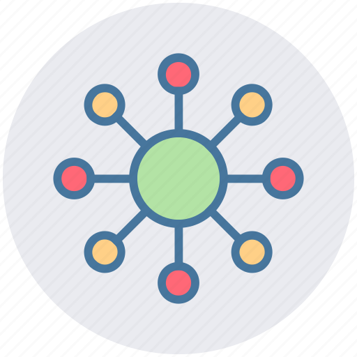 business, communication, essential, interaction, network, sharing icon