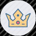 crown, headwear, kingdom, prince, princess, queen, royal icon
