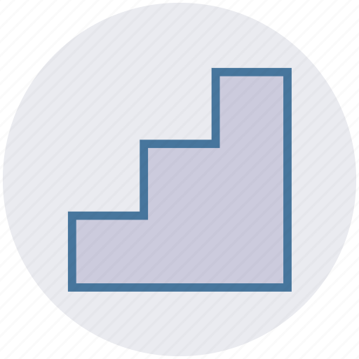 business, business growth, growth, ladder, progress, up icon