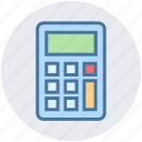 banking, business, calculator, management, mathematics icon