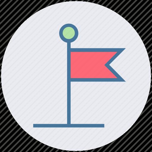 business, finance, flagpole, investment, market, teamwork icon