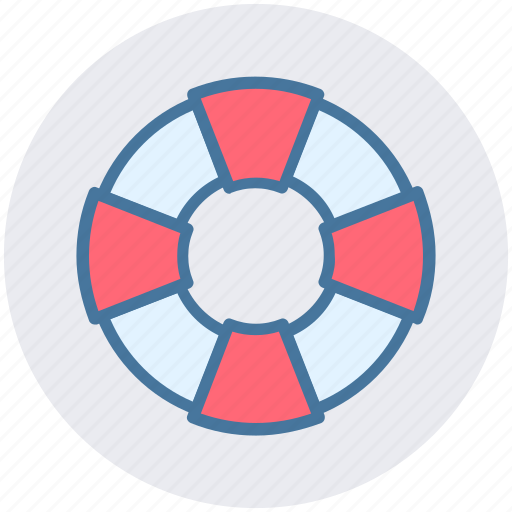 beach, guarder, life wheel, lifebuoy, safe, sea icon