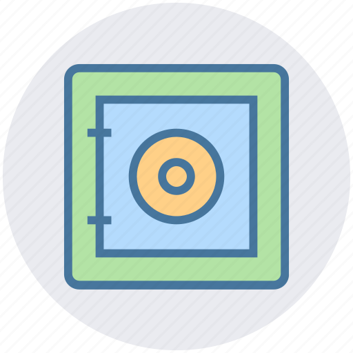 bank, business, money, protection, safe, savings, security icon