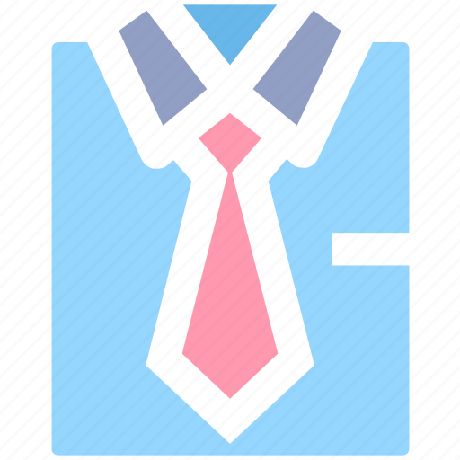 business, plain tie, shirt, shirt and tie, suit, suit and tie, tie icon