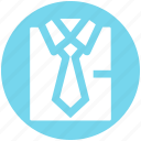 business, plain tie, shirt, shirt and tie, suit, suit and tie, tie icon
