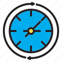 business, clock, mamage, team, time icon