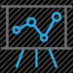 analytics, business, chart, graph, statistics icon