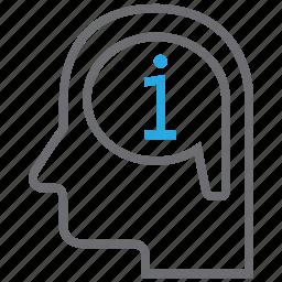 data, help, info, information icon