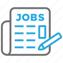 employment, jobs, recruitment, vacancy icon